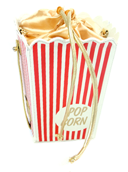 Cinema Popcorn Clutch