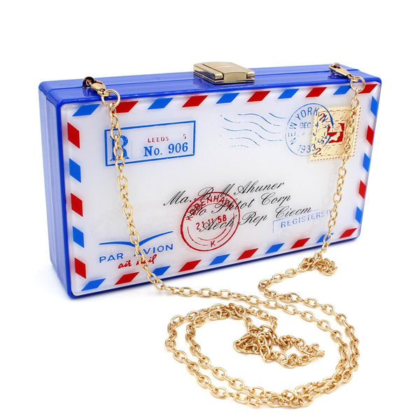 Letter Mail Clutch