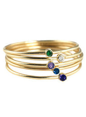 Bezel Ring Stack Set