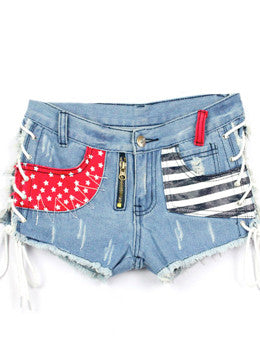 Nautical Tie Up Shorts