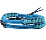 Herringbone Double Wrap Bracelet