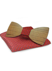 Bow Tie Pocket Square Set