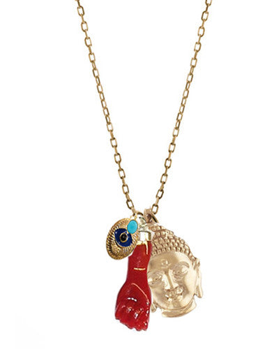 Buddha Amulet Blessings Necklace