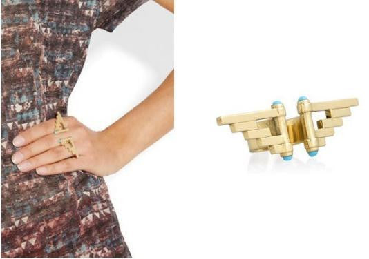 Aztec Statement Ring