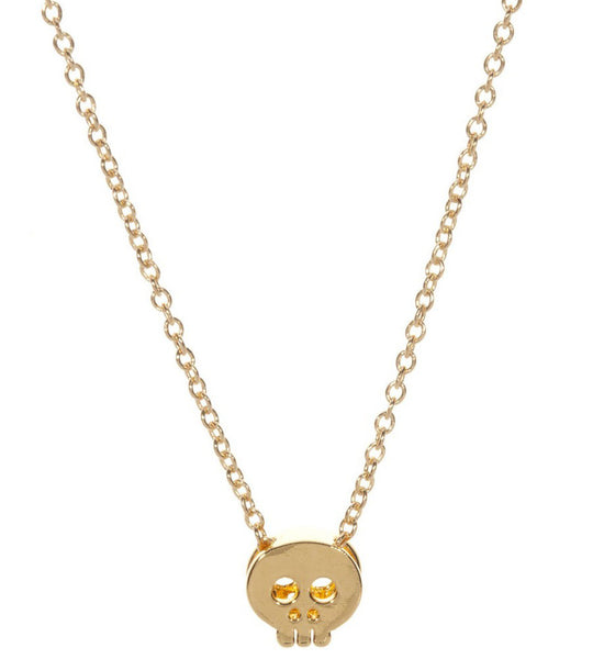 Mini Skull Head Necklace