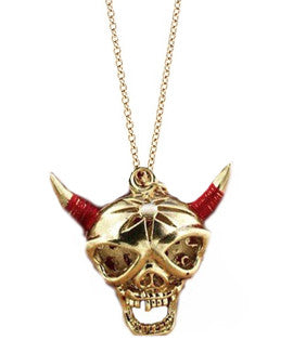 Skull Warrior Pendant