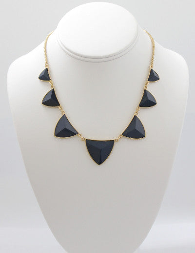 Pyramid Station Necklace