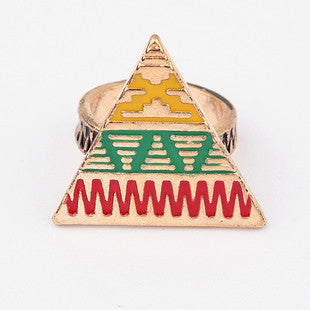 Tribal Aztec Ring