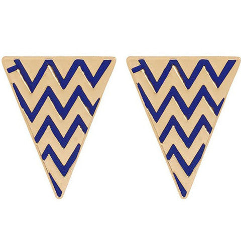 Zig Zag Earrings