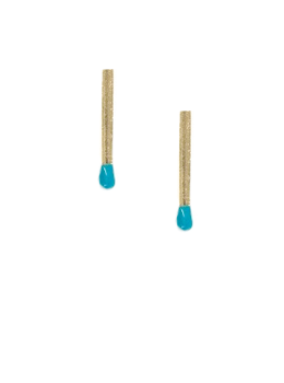 Matchstick Earrings