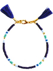 Beaded Azul Friendship Bracelet