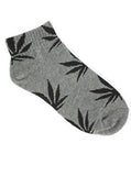 Grey Plantlife Ankle Socks