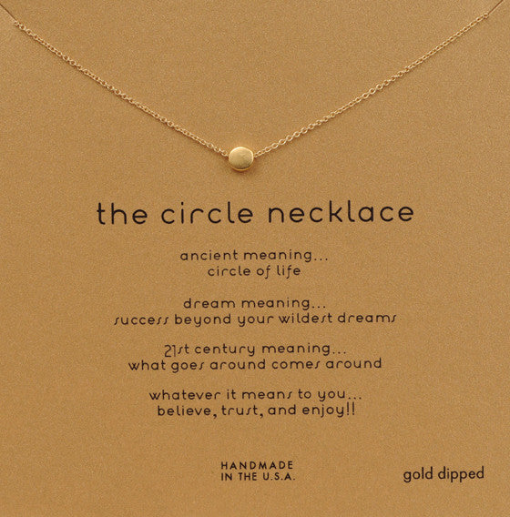 Mini Circle Necklace