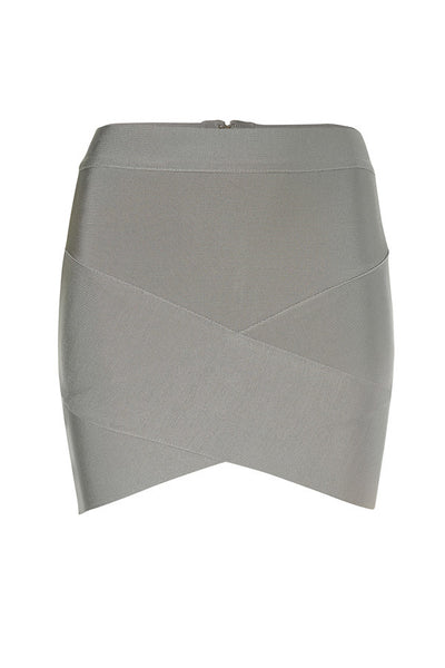Grey Bandage Skirt
