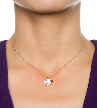 Shell Fish Necklace