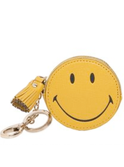 Smiley Face Key Ring Pouch