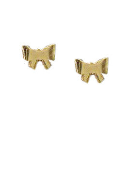 Bow Ribbon Studs