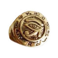 Stamp Evil Eye Ring