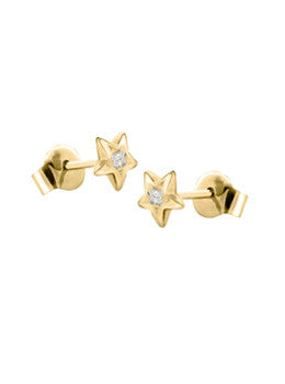 Star Diamond Studs