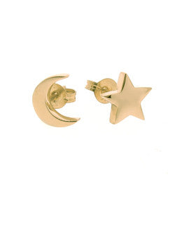 Moon Star Stud Set
