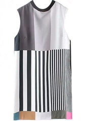 Striped Color Shift Dress