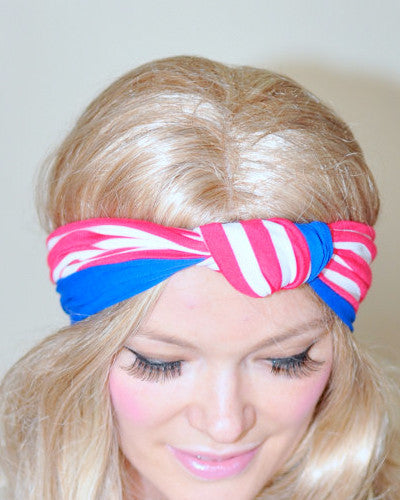 Flag Turban Headband