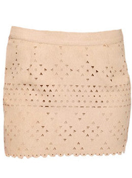 Suede Pocohontas Skirt