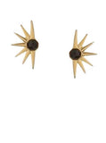 Vintage Sun Dial Earrings