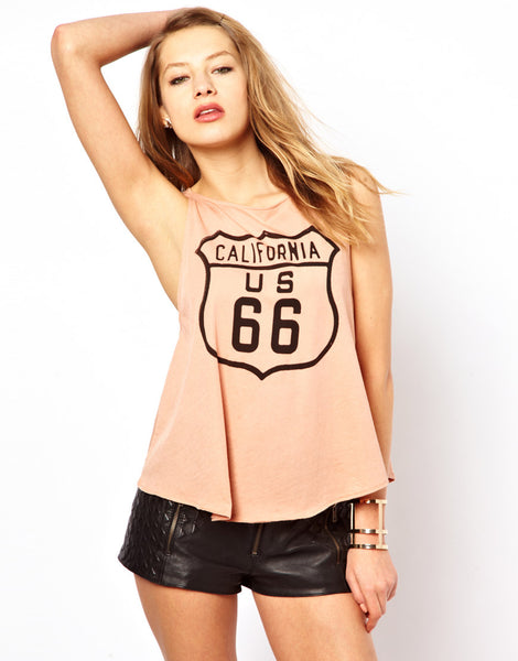 Route 66 Tank Top