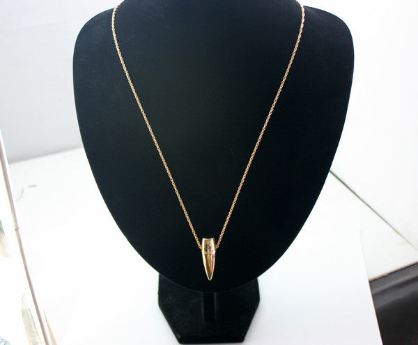 Bullet Drop Necklace