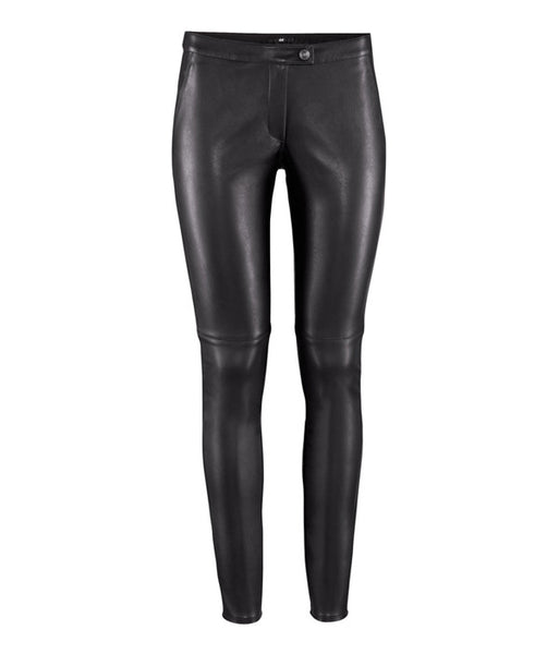 Leather Pencil Pants