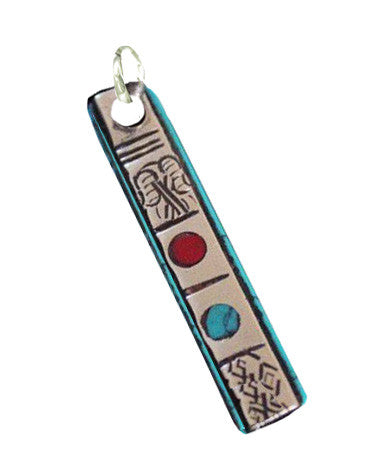 Lucky Turquoise Amulet Charm
