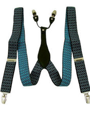 Argyle Blues Suspenders