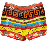 Navajo Sequin Shorts