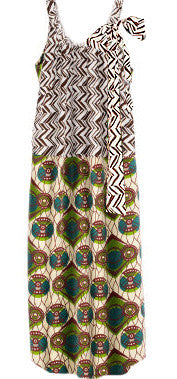 Tribal Zig Zag Dress