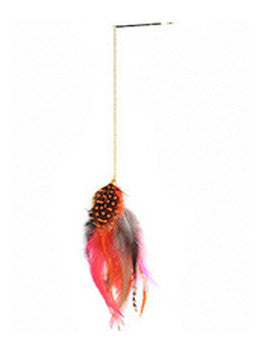 Tropical Feather Hair Pin