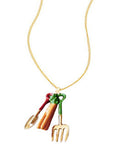 Carrot Shovel Necklace