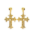 Victorian Cross Earrings