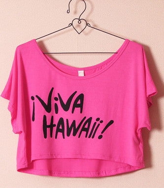 Viva Hawaii Crop Top
