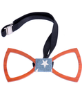 Flag Wooden Bow Tie