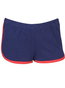 Contrast Athletic Shorts