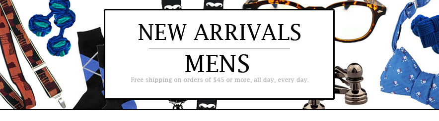 MENS: NEW ARRIVALS