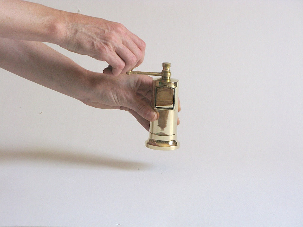 Brass Chef's Pepper Mill 006