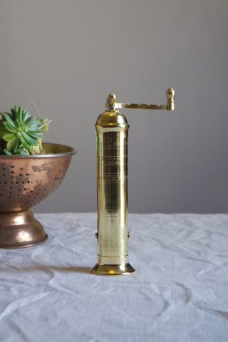 Brass Pepper Mill 104