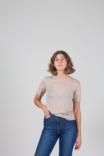 Vege Threads Merino Fitted Tee