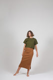 Vege Threads Rib Skirt