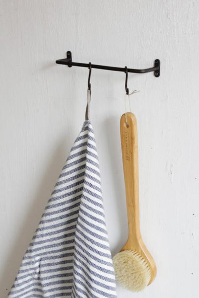 Fog Linen Work Iron Towel Bar