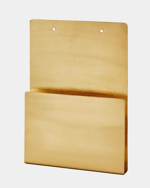 Fog Linen Work Brass File Holder
