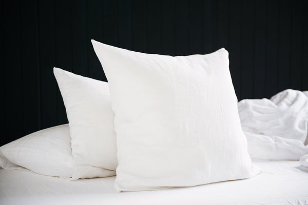 Major Minor Square Pillowcase - Wham White