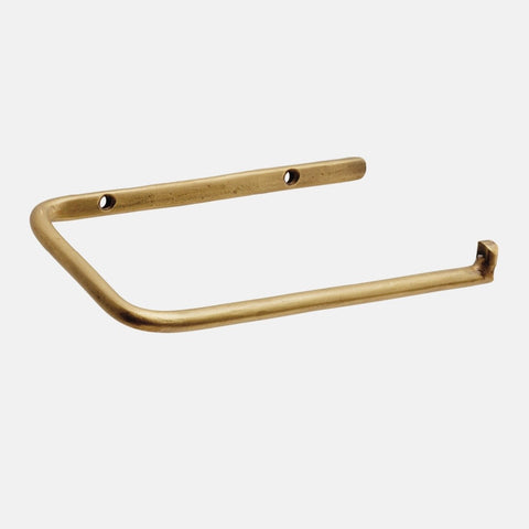 Toilet Paper Holder - Brass